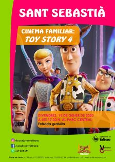 Cartell Cinema familiar Sant Sebastià 2020