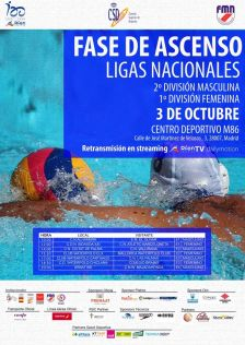 Cartell fase ascens waterpolo oct 2020